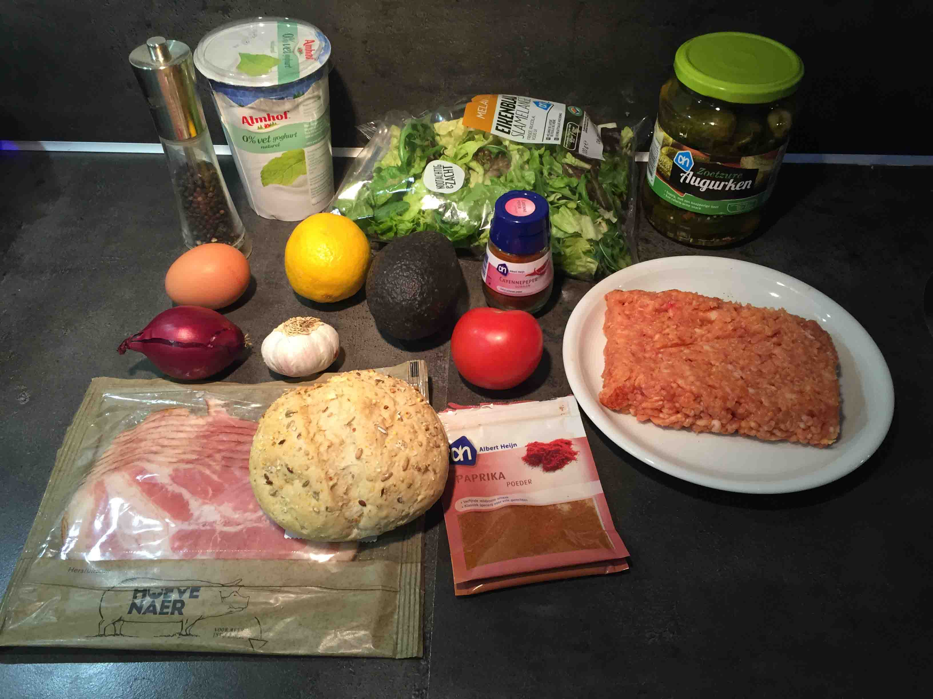 broodje kipburger maken