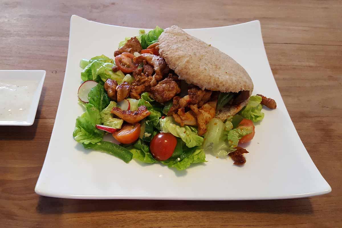 broodje shoarma gezond