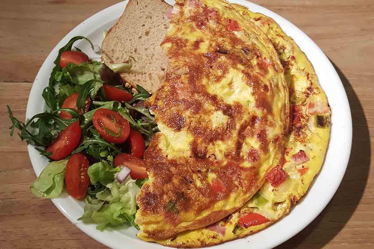 gezonde omelet